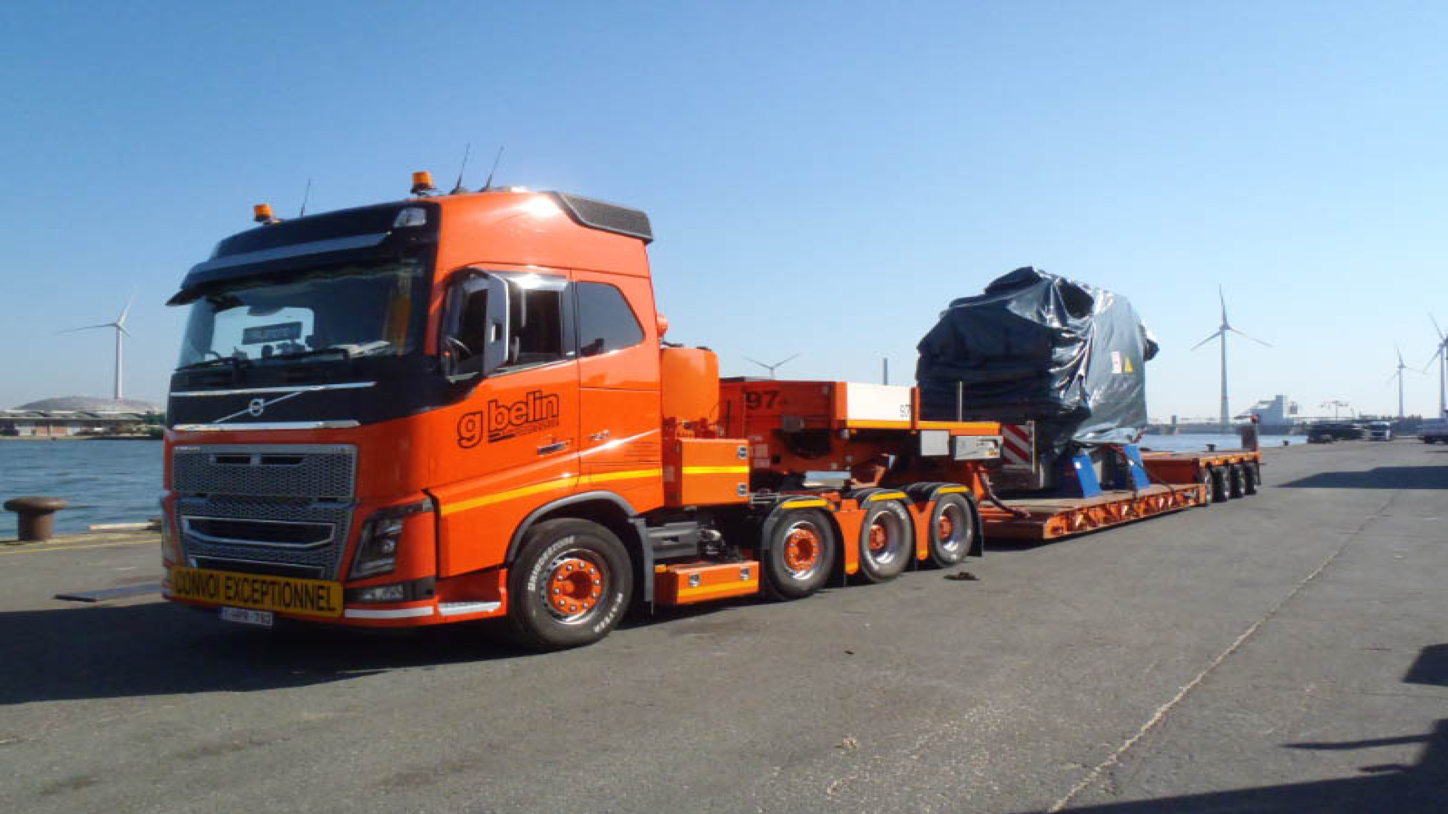 Alexander Global Logistics Transports Vessel Engines ex Denmark and Germany to France