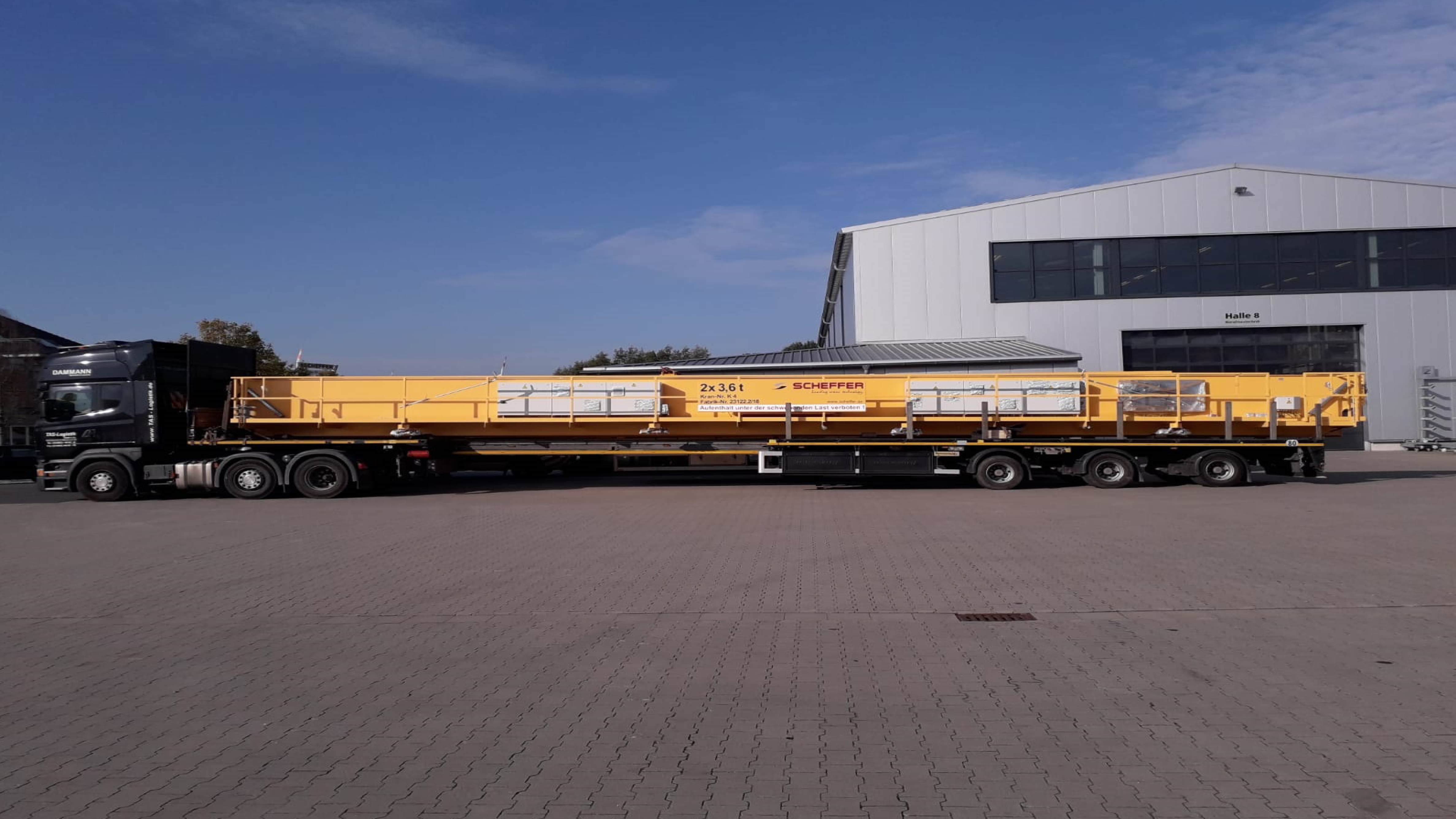 Busy Times with Crane transports within Germany