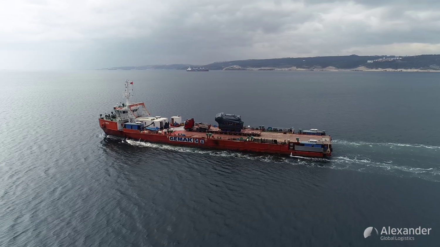 AGL Transports 128 Ton Engine to Turkey